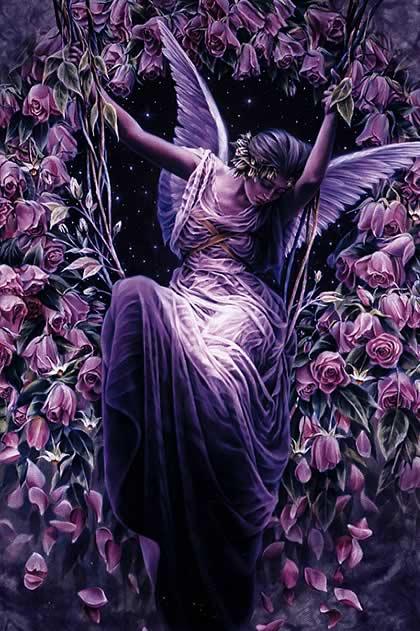 Фиолетовый ангел