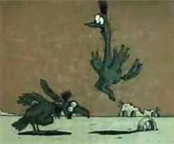 Страус - птица гордая...