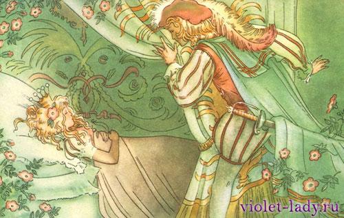 Сказка о принце и голубке