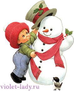 Сказка о снеговике