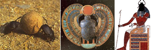 Египетский амулет – жук скарабей