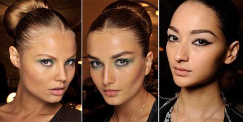 Модные тенденции в макияже летом 2011 Oscar de la Renta