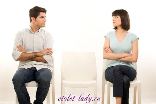треугольник в отношениях, проверка отношений