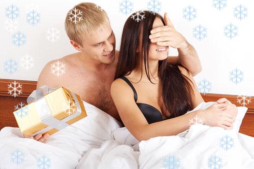 Как романтично встретить Новый год в постели