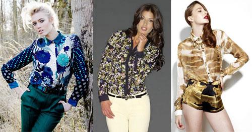 модные блузки 2013 фото