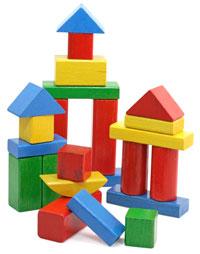 Виды детских игрушек - конструкторы