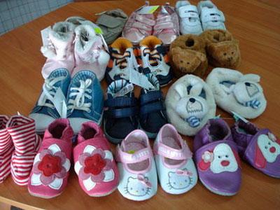 как выбрать обувь для ребенка до года