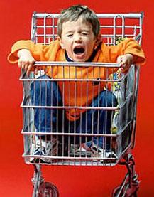 Как ходить с ребенком по магазинам