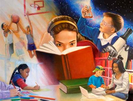 зачем детям читать книжки