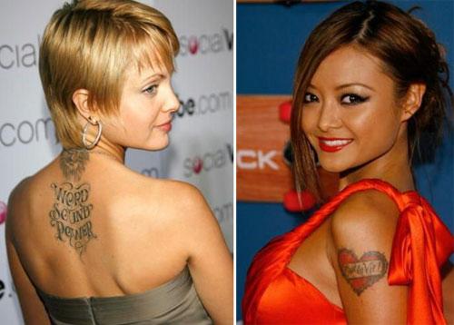 Современные направления татуировок