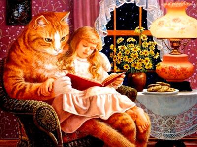 Сказка о коте и его хозяйке