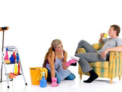 муж ничего не делает по дому