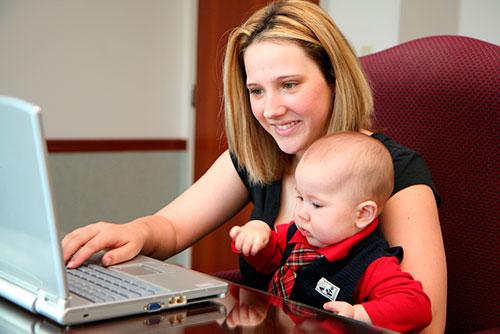 Материнство и работа