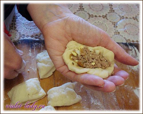 Рецепт пирожков с мясом