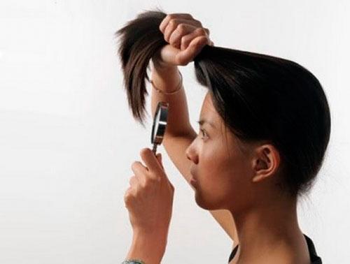 маска для кончиков волос против сечения