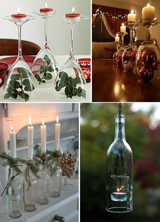 Необычные новогодние свечи