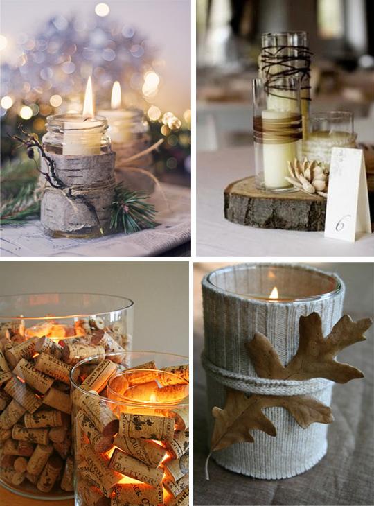 Использование свечений в новогодних украшениях