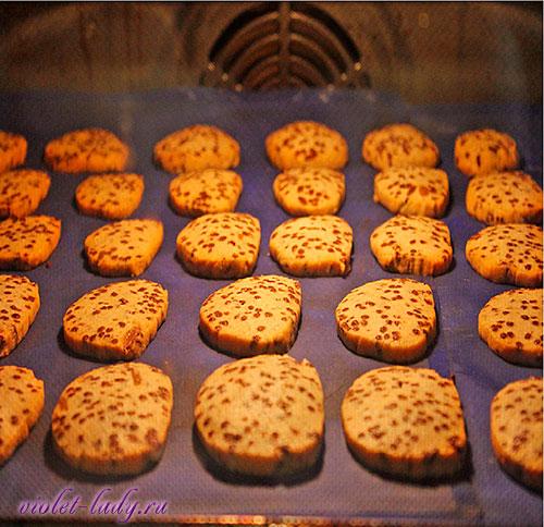 как приготовить шоколадно-апельсиновое печенье