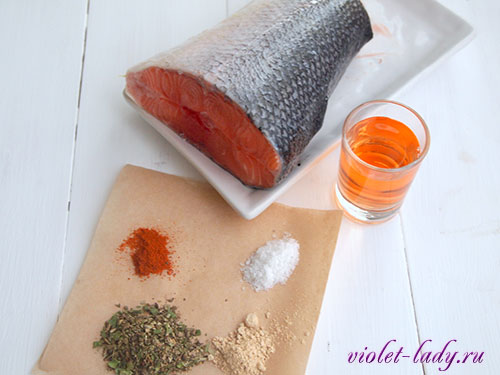 маринованный лосось в домашних условиях