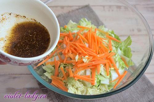 корейский салат из пекинской капусты