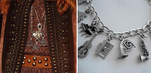 модные украшения из серебра