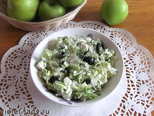 салат с фетой