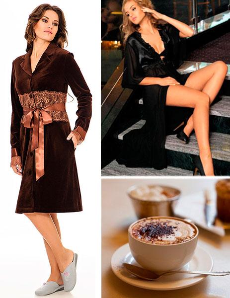 разновидности халатов