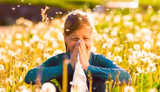 аллергия у детей на цветение