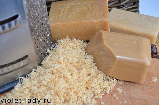 Как сделать из хозяйственного мыла стиральный порошок