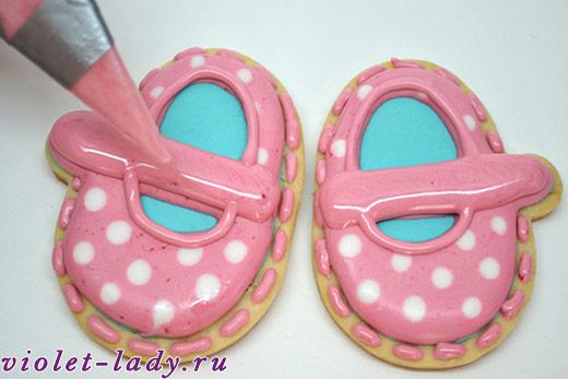 печенье в глазури для детей
