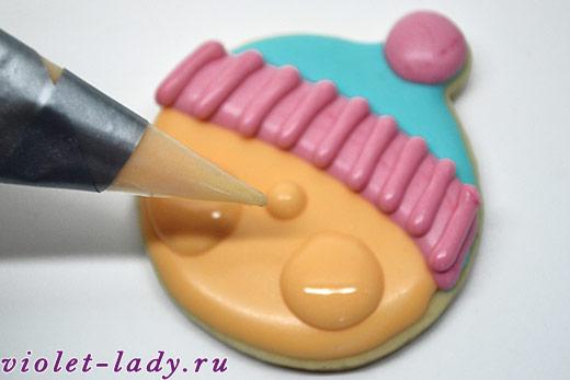 красивое печенье для детей