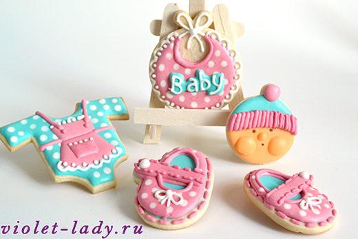 печенье на крестины