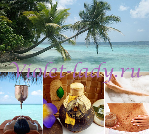Применение масла кокоса в косметических целях