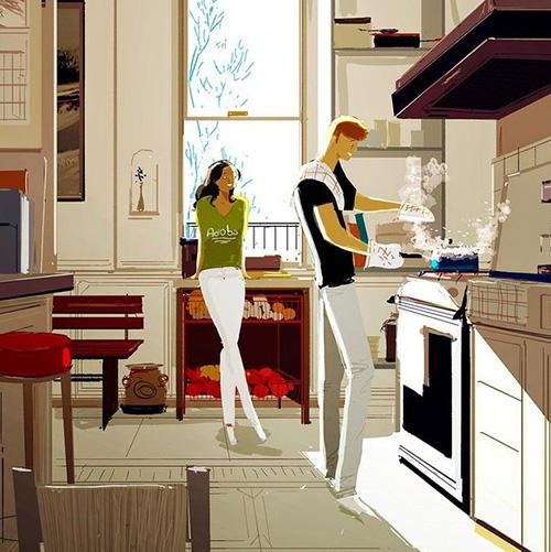 Домашние хлопоты - повод проявить свою любовь