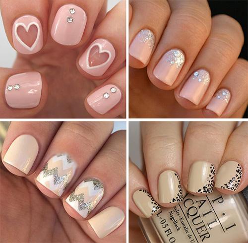 Дизайн ногтей постельного цвета