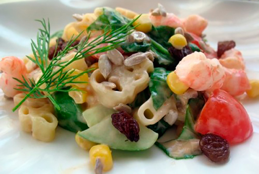 рецепты салатов из авокадо и морепродуктов