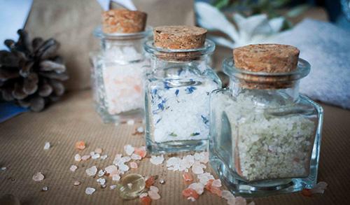 Нюхательные соли с аромамаслами