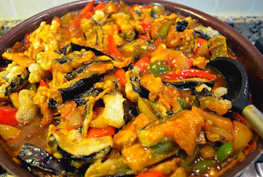 Тушеные баклажаны рецепты быстро и вкусно с фото