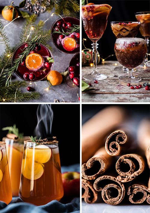 Зимние коктейли для рождественских праздников