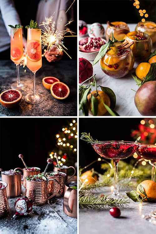 Рецепты новогодних коктейлей