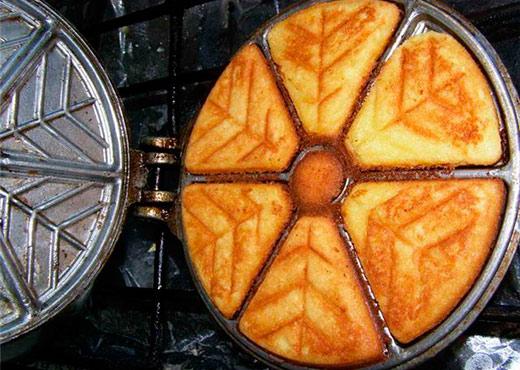 рецепт печенья в формочках на газу треугольники как в детстве